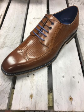 JUSTIN REECE TAN BROGUE