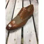 Justin Reece Mens Check Shoe