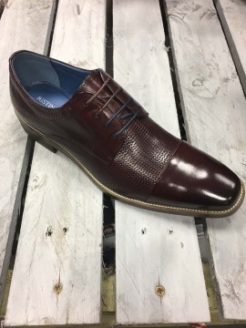JUSTIN REECE MENS WINE OXFORD