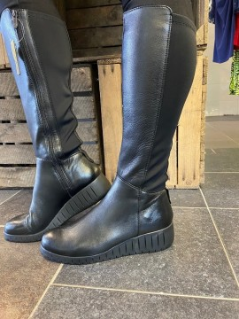 MARCO TOZZI LONG LEATHER BOOT