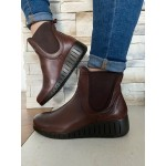 MARCO TOZZI LEATHER CAFE BOOT