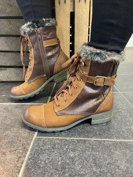 EARTH SPIRIT TAN LEATHER BOOT