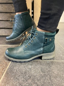 EARTH SPIRIT DEEP PINE LEATHER BOOT